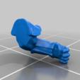 left_arm_v2.png Télécharger fichier STL gratuit Infatrie des elfes / Miniatures des lanciers • Plan imprimable en 3D, Ilhadiel