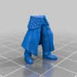 leg_v1.png Télécharger fichier STL gratuit Infatrie des elfes / Miniatures des lanciers • Plan imprimable en 3D, Ilhadiel