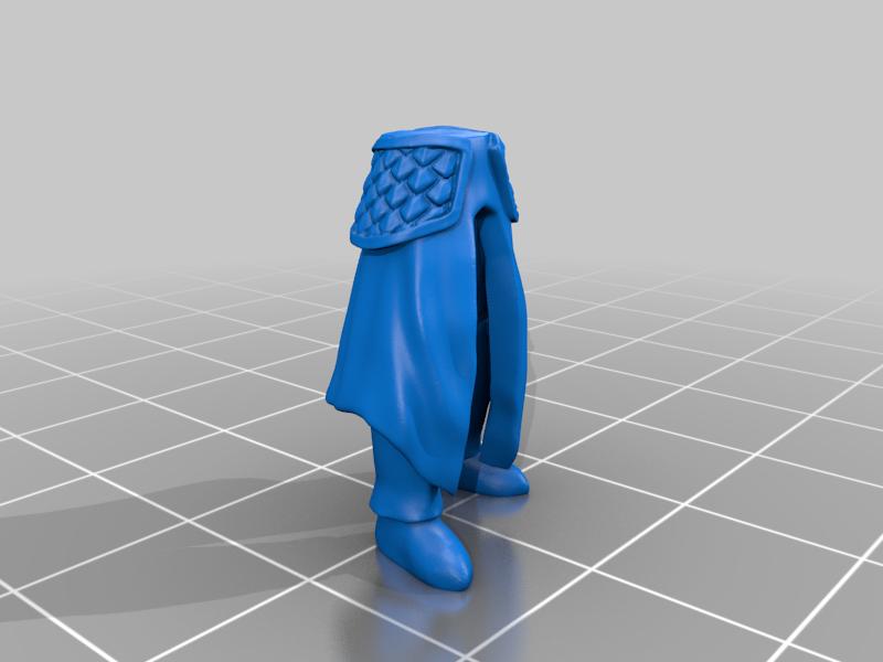 leg_v2.png Télécharger fichier STL gratuit Infatrie des elfes / Miniatures des lanciers • Plan imprimable en 3D, Ilhadiel