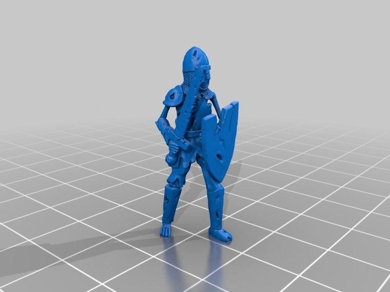 18bef62b932e3163205812af52979343.png Télécharger fichier STL gratuit Guerrier squelette miniature • Objet à imprimer en 3D, Ilhadiel