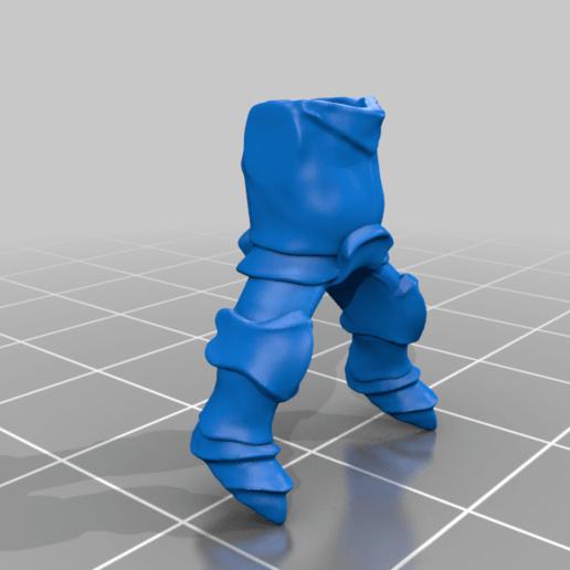 body_v3.png Download free STL file Dwarf Knight Goat Cavalry Miniatures • 3D print object, Ilhadiel