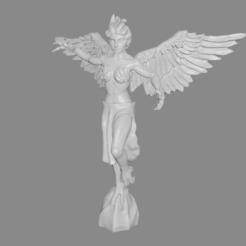 harpy_pic.png Télécharger fichier STL gratuit Harpie miniature • Design à imprimer en 3D, Ilhadiel
