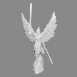 Download free 3D printing files Archangel Miniature version #2, Ilhadiel