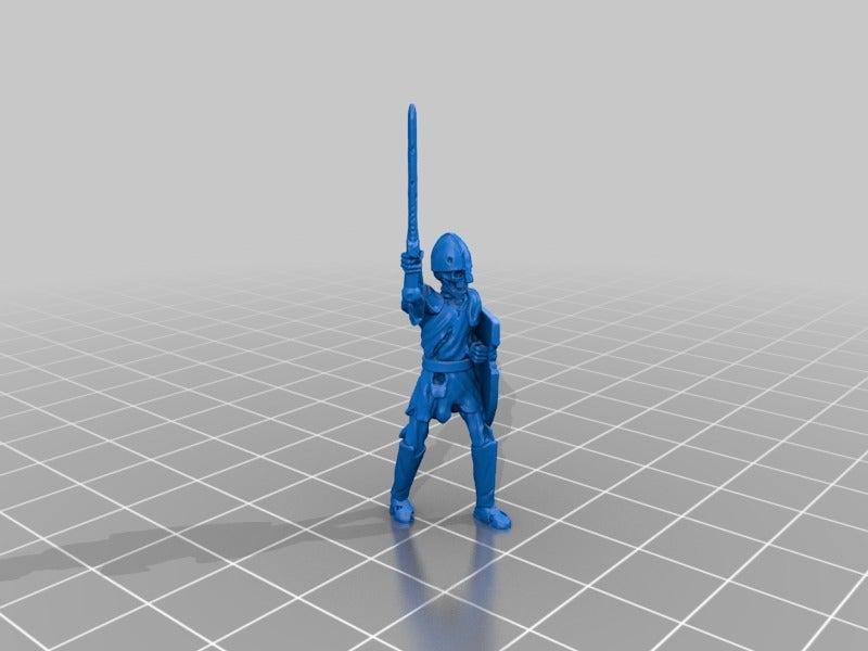 dcb4c5cd9974e0f0b7bc5d26a19625db.png Télécharger fichier STL gratuit Skeleton Warrior Miniature version #2 • Design pour impression 3D, Ilhadiel