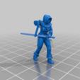 723cf0c83114245312ce7b15fd6bee41.png Download free STL file Female Thief/Treasure Hunter Miniature • 3D print model, Ilhadiel