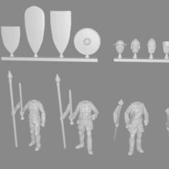 Men-at-arms-pic.png Télécharger fichier STL gratuit Hommes d'armes miniatures personnalisables • Modèle imprimable en 3D, Ilhadiel