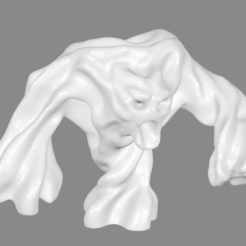 Download free 3D printer templates Air Elemental Miniature, Ilhadiel