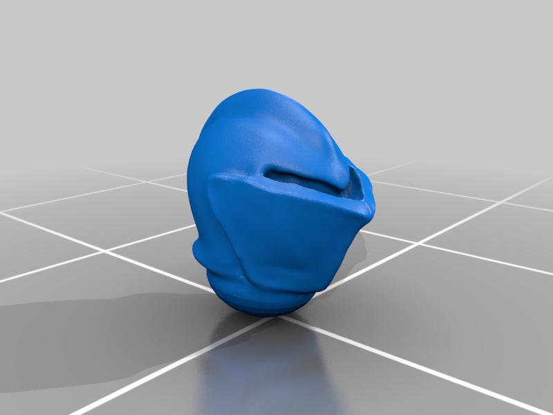 helmet_v2.png Download free STL file Dwarf Knight Goat Cavalry Miniatures • 3D print object, Ilhadiel