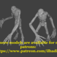 Download free STL file Terror Miniature • 3D printing template, Ilhadiel