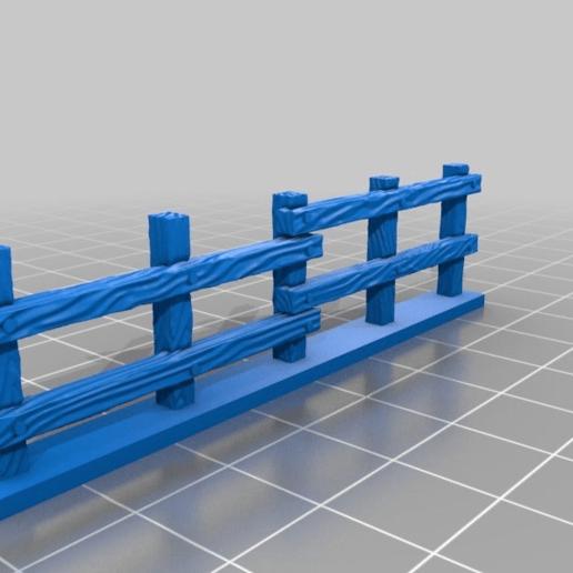 10cca24aac0925f526c30ff60f48d1b4.png Download free STL file Fence miniatures • 3D printing model, Ilhadiel