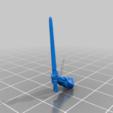 sword_v5.png Télécharger fichier STL gratuit Infatrie des elfes / Miniatures des lanciers • Plan imprimable en 3D, Ilhadiel
