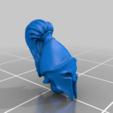 head_v4.png Télécharger fichier STL gratuit Infatrie des elfes / Miniatures des lanciers • Plan imprimable en 3D, Ilhadiel