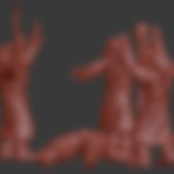 blood_magus_v1.stl Télécharger fichier STL Mages de sang / Miniatures du conclave de Magus • Plan pour imprimante 3D, Ilhadiel