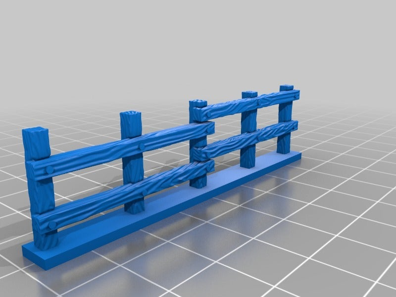0cd9ec0627f8e11b2c2b8308d25cc4e9.png Download free STL file Fence miniatures • 3D printing model, Ilhadiel