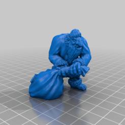 Santa_Troll.png Télécharger fichier STL gratuit Miniature de Santa Troll • Plan à imprimer en 3D, Ilhadiel