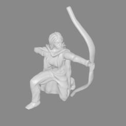 Télécharger fichier impression 3D gratuit Femme Ranger miniature, Ilhadiel