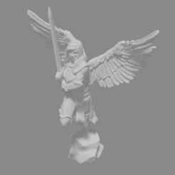 Download free STL file Archangel Miniature • 3D print object, Ilhadiel