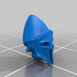 head_v7.png Télécharger fichier STL gratuit Infatrie des elfes / Miniatures des lanciers • Plan imprimable en 3D, Ilhadiel