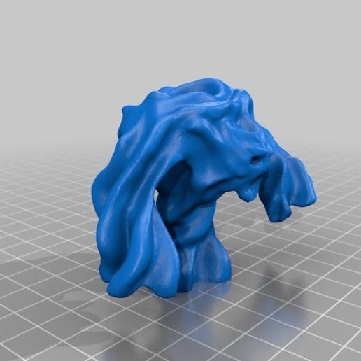 6bfbc96a1f4c42fc190e4ccf331d295d.png Télécharger fichier STL gratuit Air Elemental Miniature • Modèle pour imprimante 3D, Ilhadiel