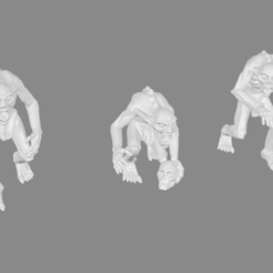 Download free 3D printer files Ghoul Miniatures, Ilhadiel