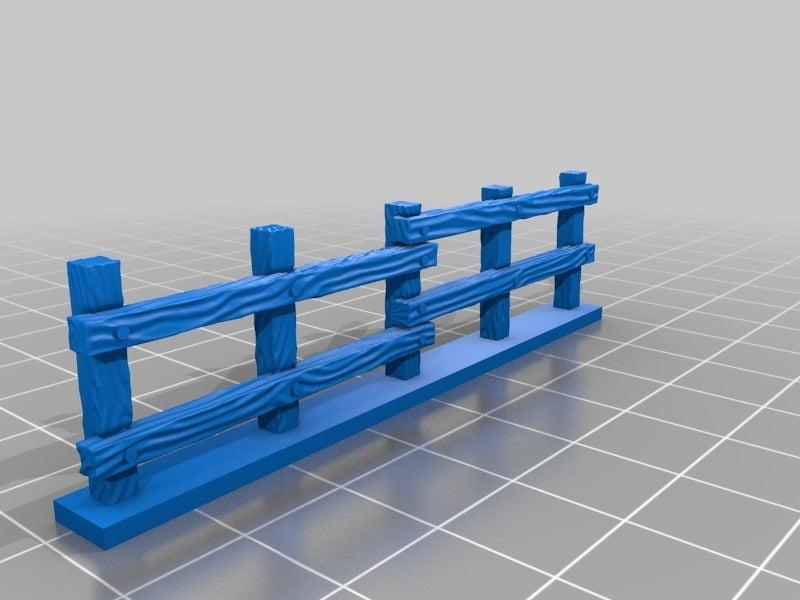 7b197cd61761459e4ddb52646493f443.png Download free STL file Fence miniatures • 3D printing model, Ilhadiel