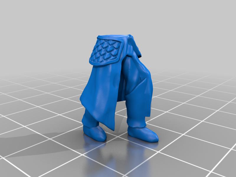 leg_v3stl.png Télécharger fichier STL gratuit Infatrie des elfes / Miniatures des lanciers • Plan imprimable en 3D, Ilhadiel