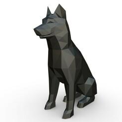 1.jpg Download 3DS file husky figure  • 3D print template, stiv_3d