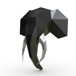 1.jpg Download 3DS file Elephant figure 6 • 3D printing object, stiv_3d