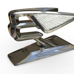 Télécharger plan imprimante 3D Ornement de capot de Bentley, stiv_3d
