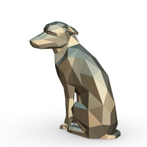 2.jpg Download 3DS file vira lata dog figure • Model to 3D print, stiv_3d