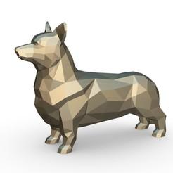 1.jpg Télécharger fichier 3DS Pembroke Welsh Corgi • Objet pour impression 3D, stiv_3d