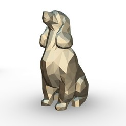 37.jpg Download 3DS file Cocker Spaniel figure • 3D printer model, stiv_3d