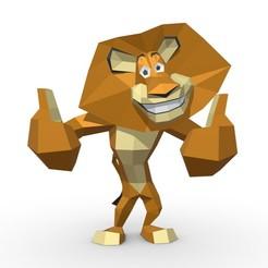 1.jpg Download STL file lion Alex • 3D print model, stiv_3d