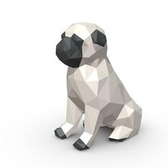 Download 3D printer files Pug Figure, stiv_3d