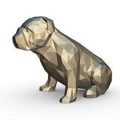 1.jpg Download 3DS file English bulldog figure • 3D print design, stiv_3d