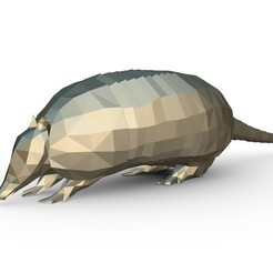 Download 3D printing designs armadillo figure, stiv_3d