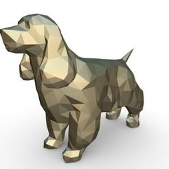 Télécharger objet 3D Figurine du Cocker Spaniel, stiv_3d