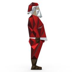 1.jpg Download 3DS file santa claus figure • 3D printing object, stiv_3d