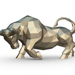 1.jpg Download 3DS file bull • 3D printer template, stiv_3d