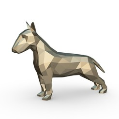 1.jpg Download 3DS file Bull Terriers • Object to 3D print, stiv_3d