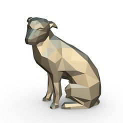 1.jpg Download 3DS file vira lata dog figure • Model to 3D print, stiv_3d