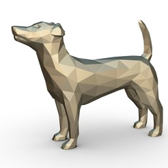 1.jpg Download 3DS file jack russell terrier figure • 3D print template, stiv_3d