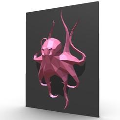 Télécharger modèle 3D figure de pieuvre, stiv_3d