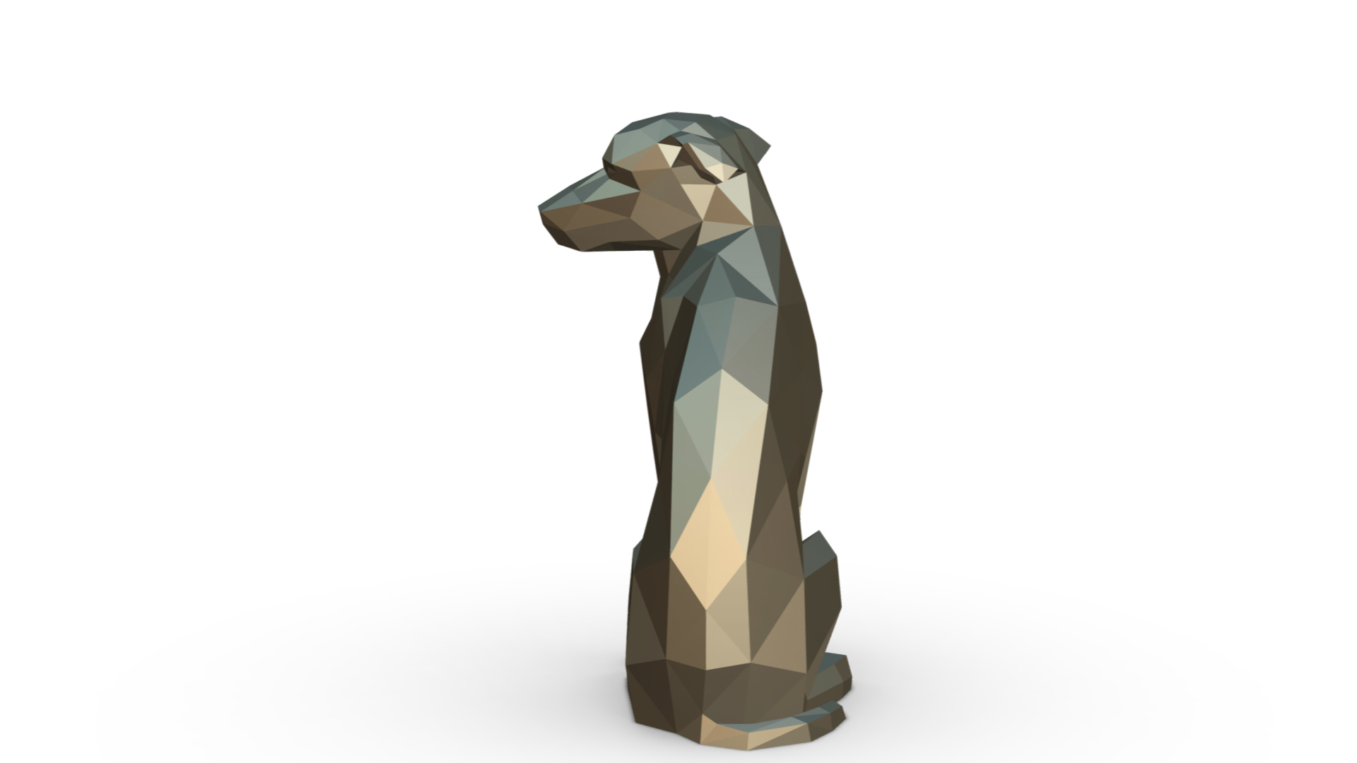 3.jpg Download 3DS file vira lata dog figure • Model to 3D print, stiv_3d