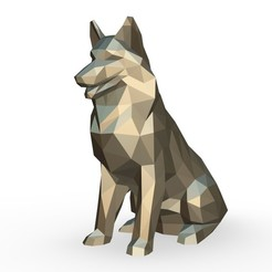 1.jpg Download 3DS file Shetland Shepherd figure • Model to 3D print, stiv_3d