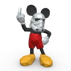 1.jpg Télécharger fichier 3DS Soldat d'assaut Mickey Mouse • Objet imprimable en 3D, stiv_3d