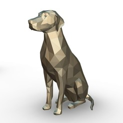 46.jpg Download 3DS file Dalmatian figure • 3D printer model, stiv_3d