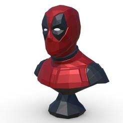 1.jpg Download 3DS file Deadpool figure • 3D printing model, stiv_3d