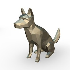 10.jpg Download 3DS file Blue Heeler figure • 3D print object, stiv_3d