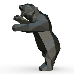 1.jpg Download 3DS file bear figure • Model to 3D print, stiv_3d